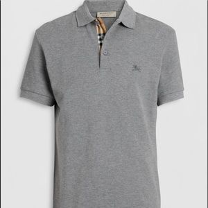 Burberry Brit Gray Polo JUST LISTED!